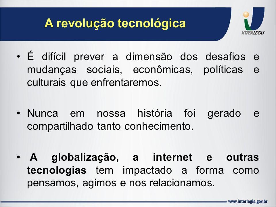 A revolução tecnológica