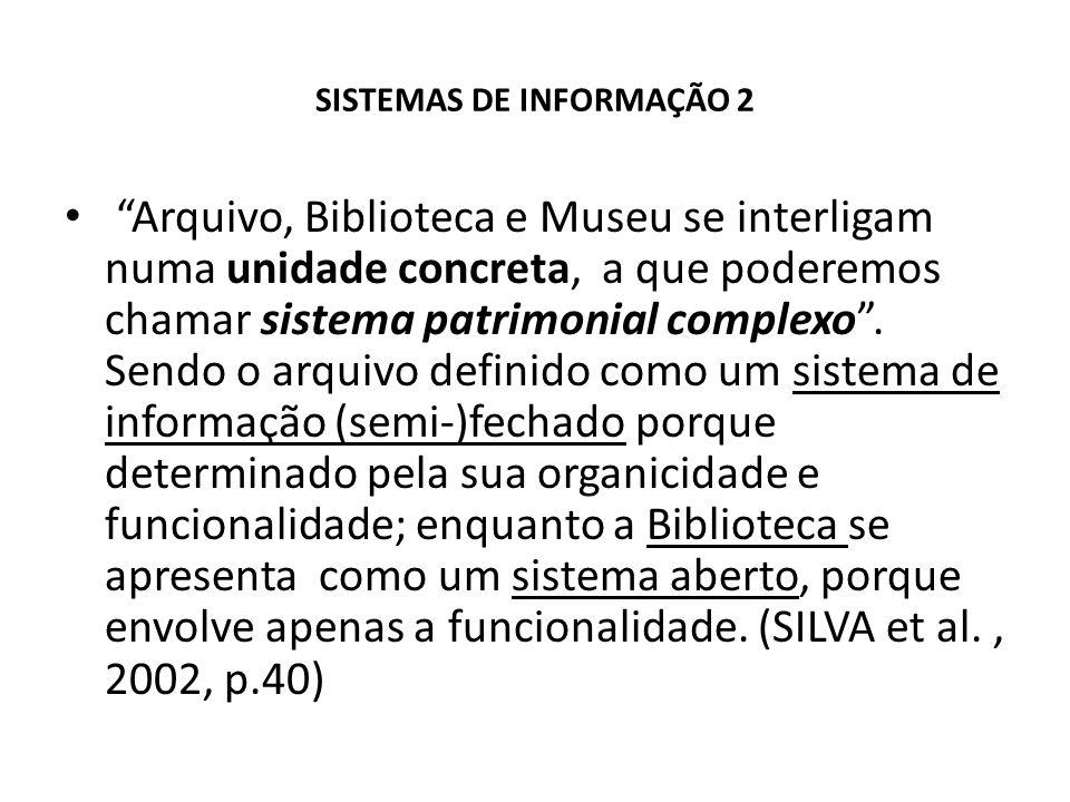 SISTEMAS DE INFORMAÇÃO 2