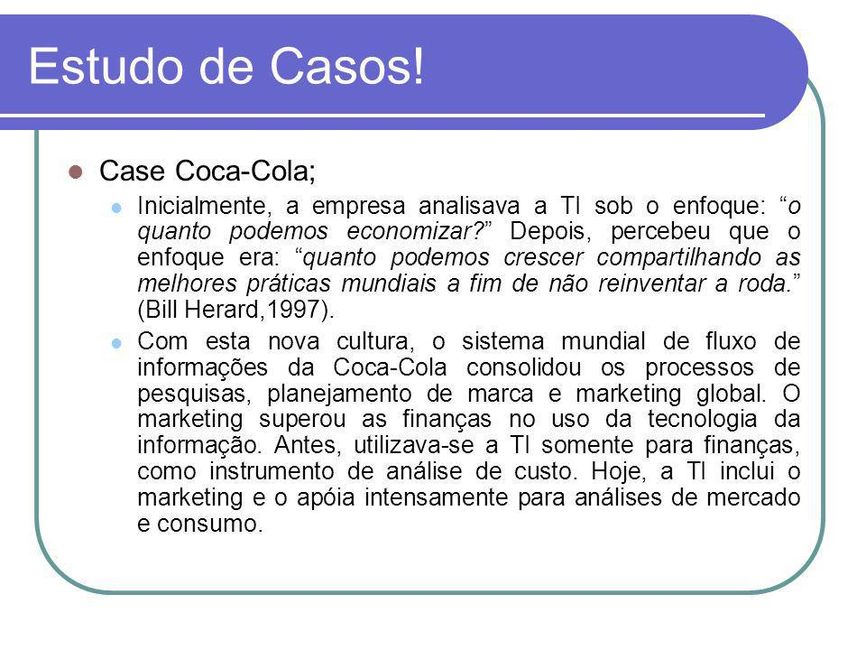 Estudo de Casos! Case Coca-Cola;