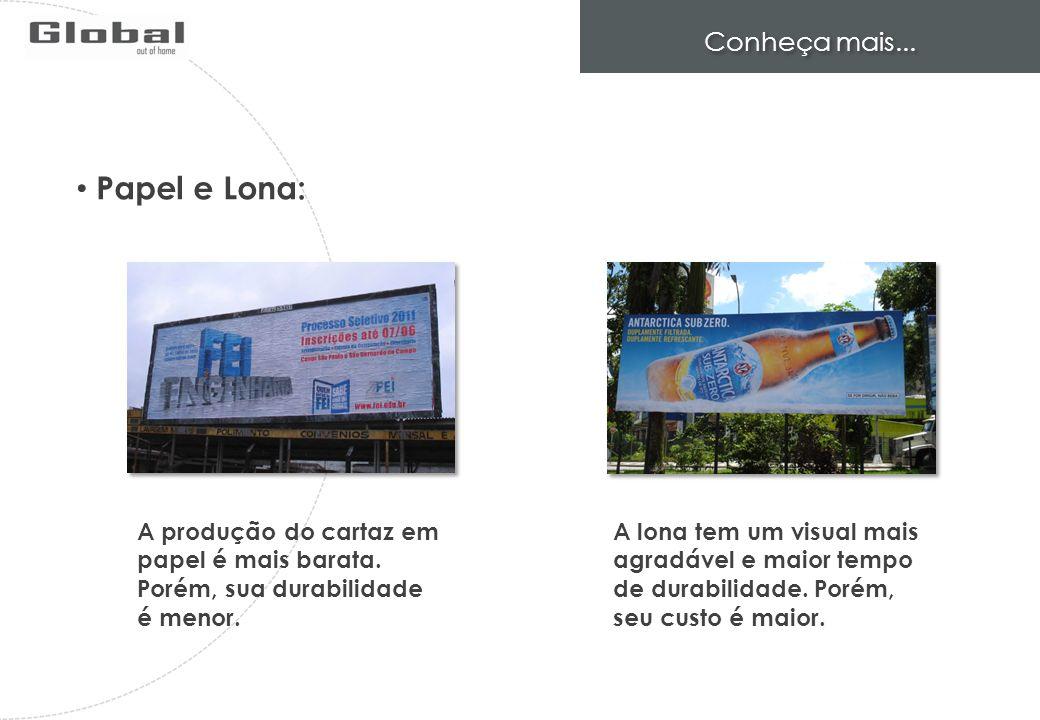 Papel e Lona: Conheça mais...