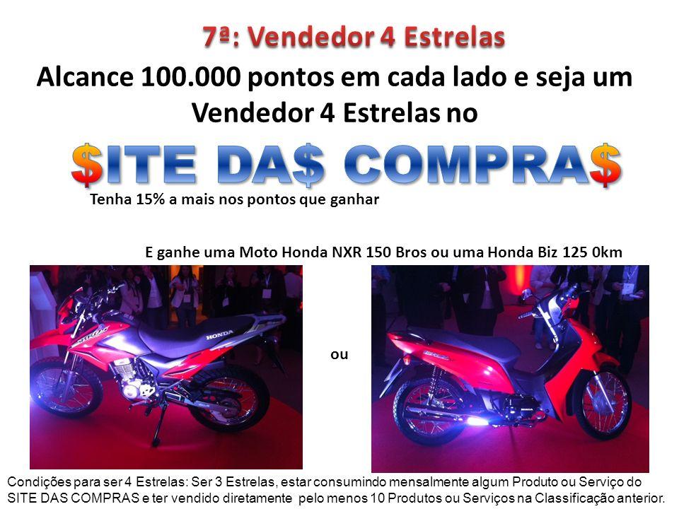 $ITE DA$ COMPRA$ 7ª: Vendedor 4 Estrelas