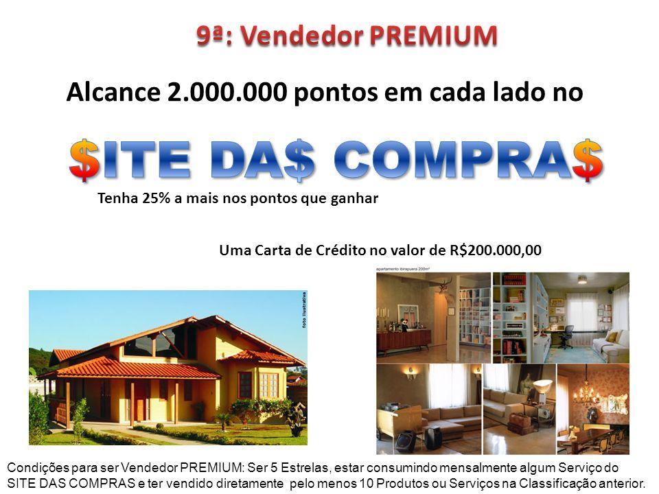 $ITE DA$ COMPRA$ 9ª: Vendedor PREMIUM
