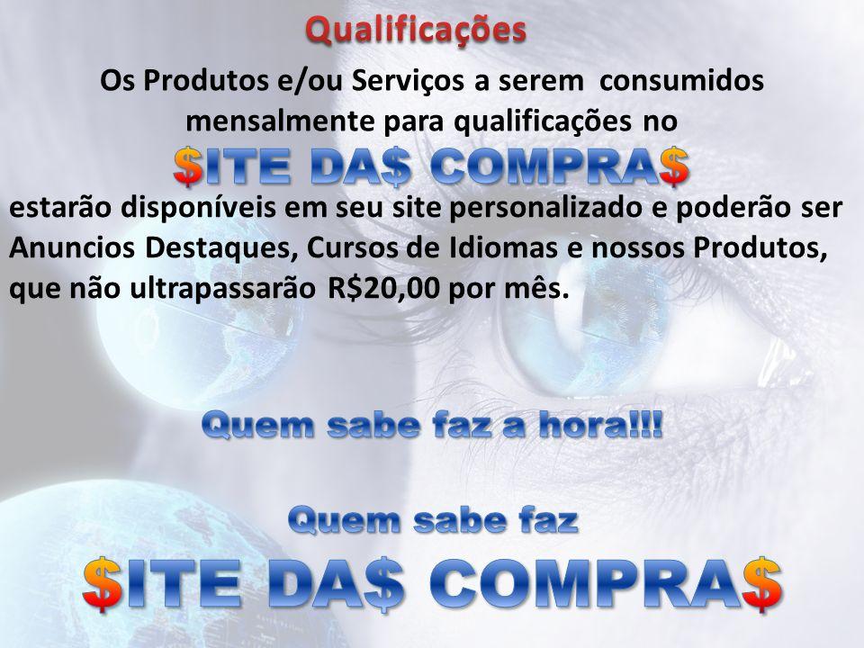 $ITE DA$ COMPRA$ $ITE DA$ COMPRA$ Qualificações
