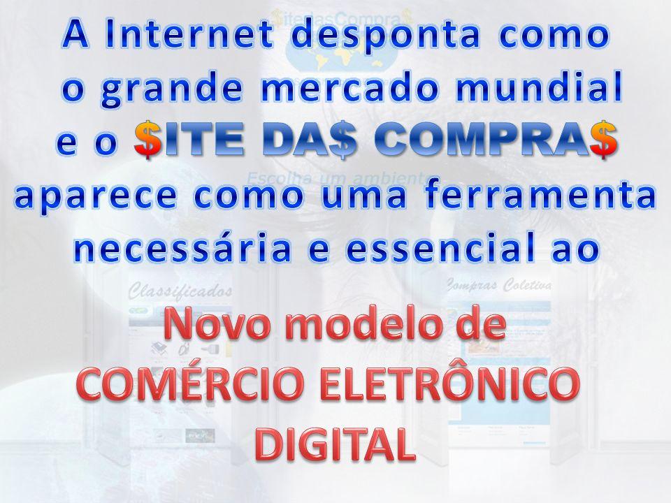 Novo modelo de COMÉRCIO ELETRÔNICO DIGITAL