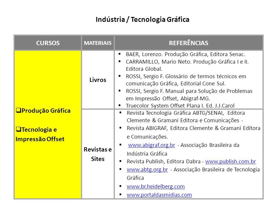 Indústria / Tecnologia Gráfica