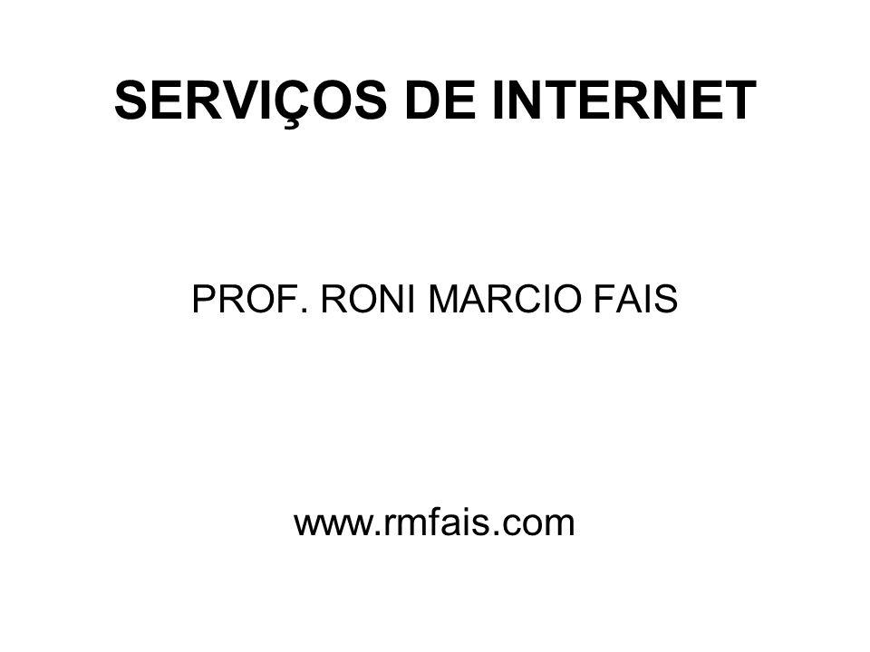 PROF. RONI MARCIO FAIS www.rmfais.com