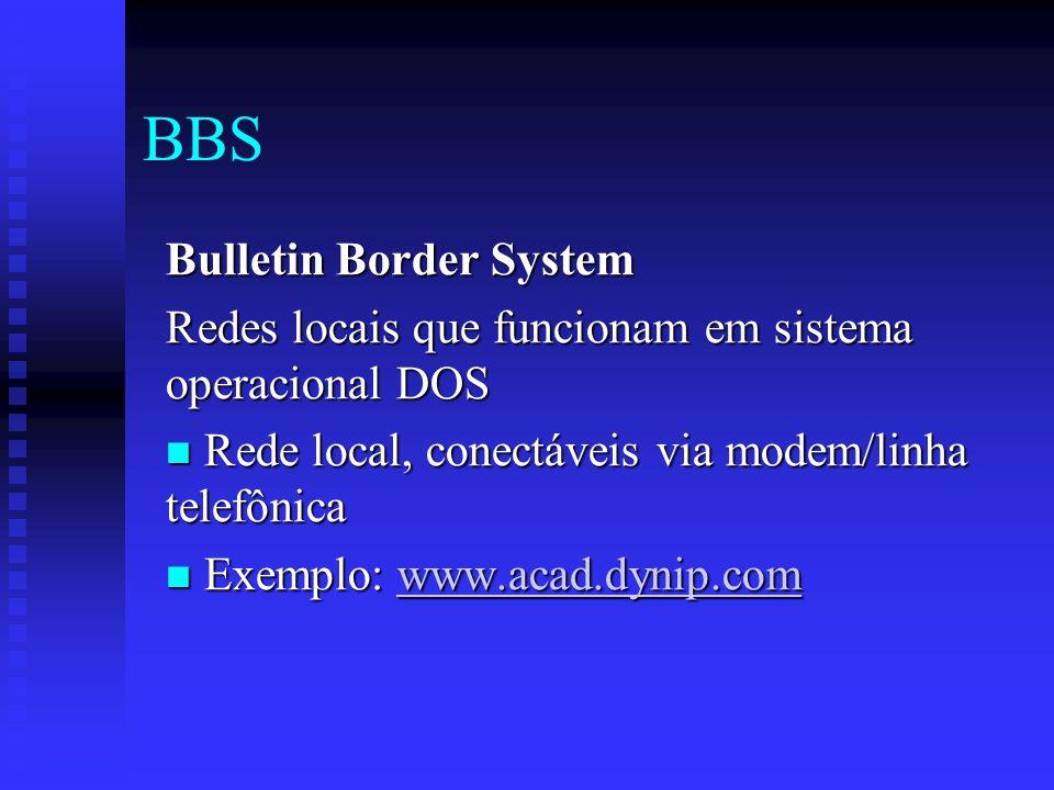 BBS Bulletin Border System