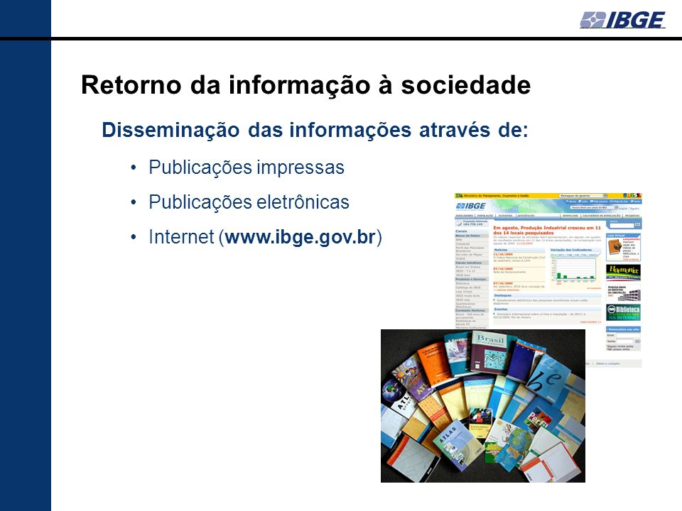 Retorno da informação à sociedade