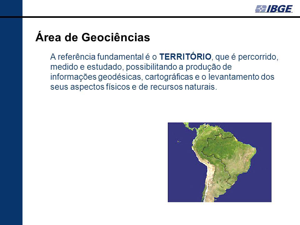 Área de Geociências