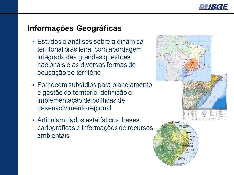 Informações Geográficas