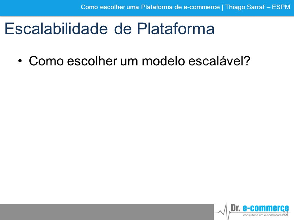 Escalabilidade de Plataforma