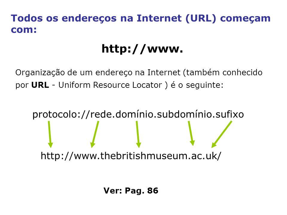 protocolo://rede.domínio.subdomínio.sufixo