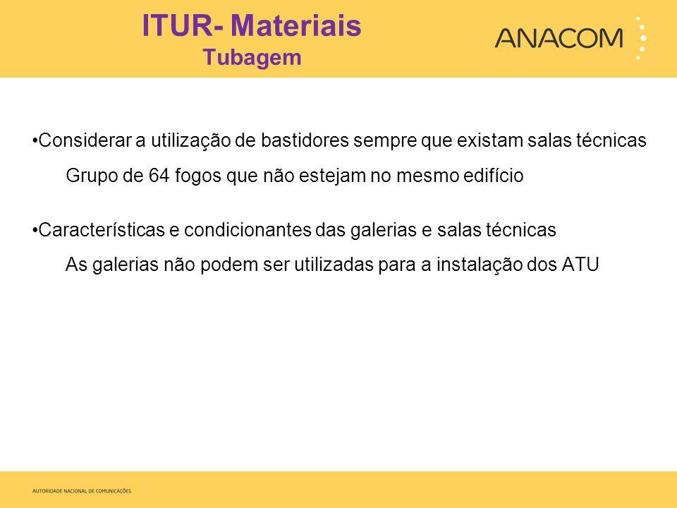 ITUR- Materiais Tubagem