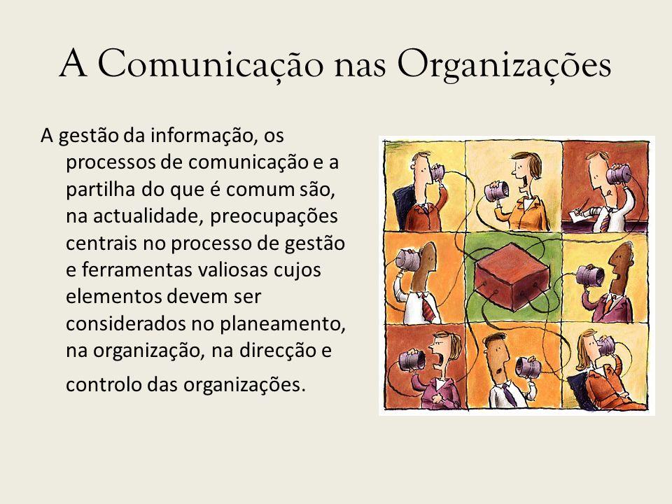A Comunicação nas Organizações