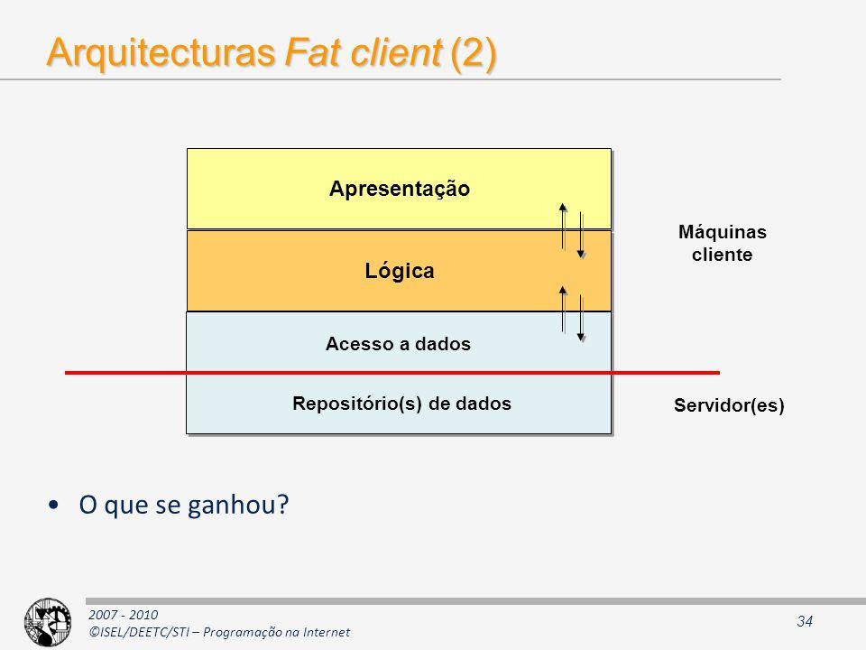 Arquitecturas Fat client (2)