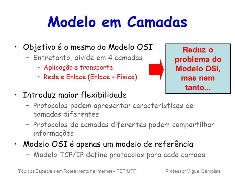 Reduz o problema do Modelo OSI, mas nem tanto...