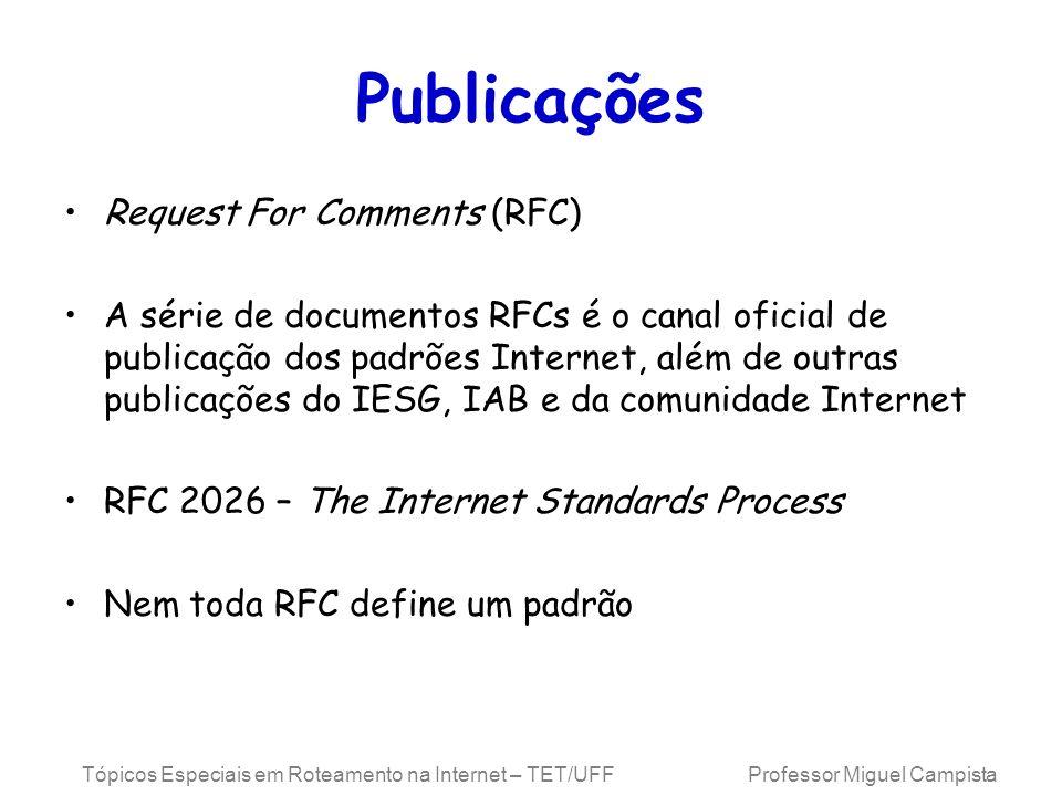 Publicações Request For Comments (RFC)