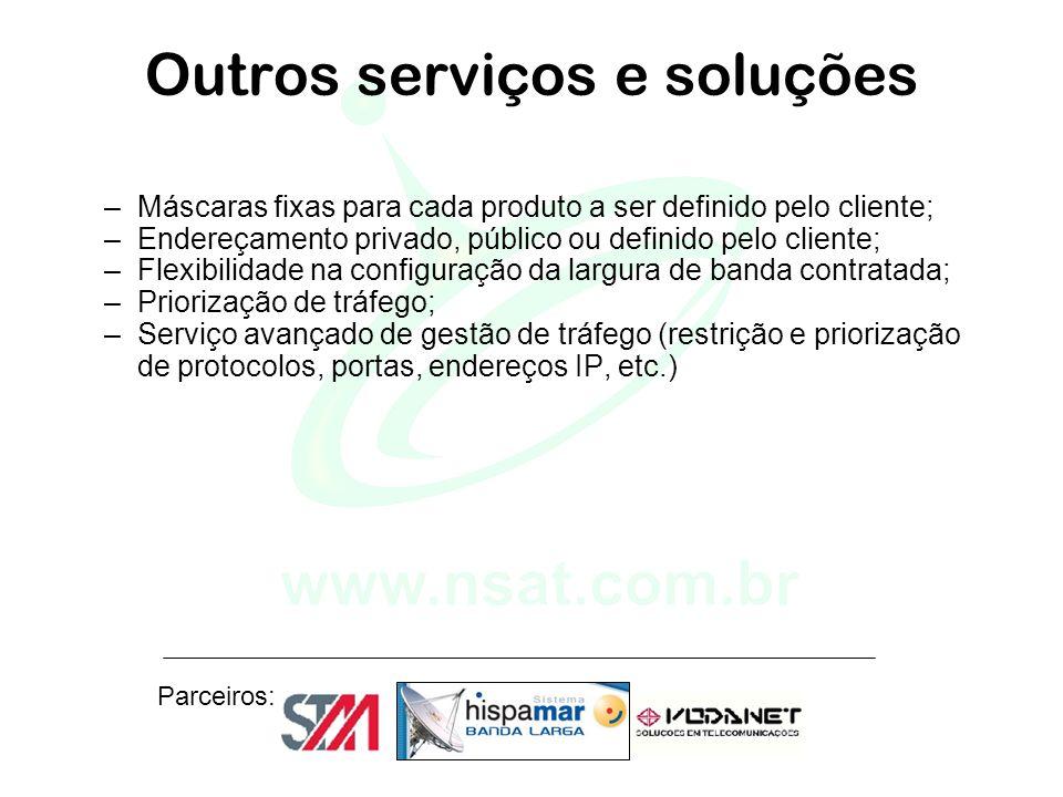 Outros serviços e soluções