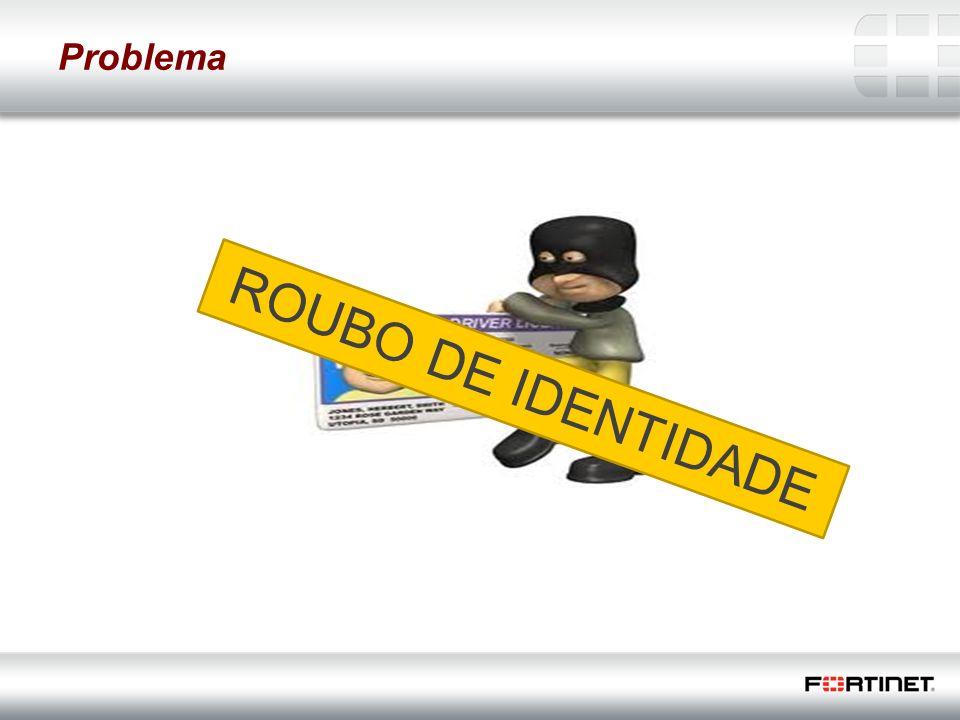 Problema ROUBO DE IDENTIDADE