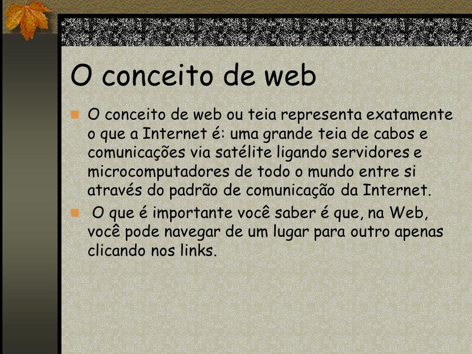 O conceito de web