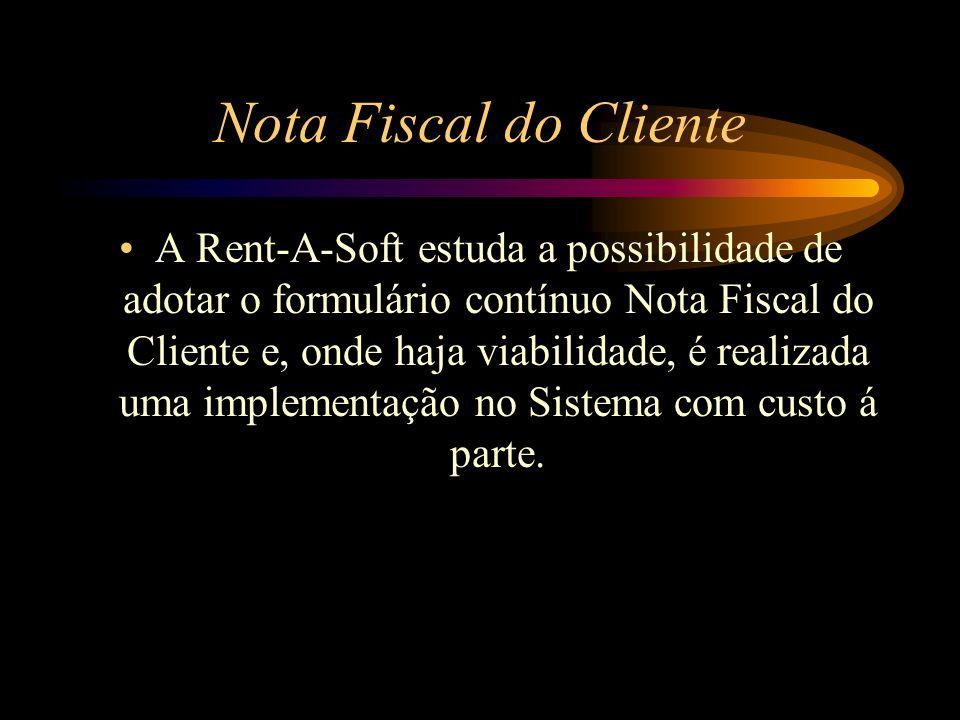 Nota Fiscal do Cliente