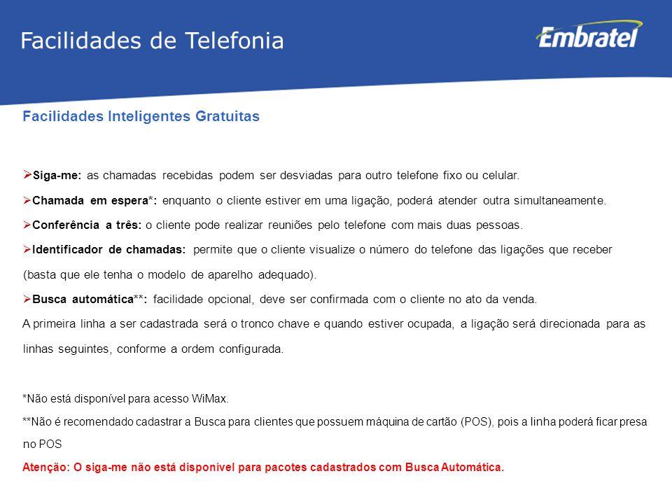 Facilidades de Telefonia