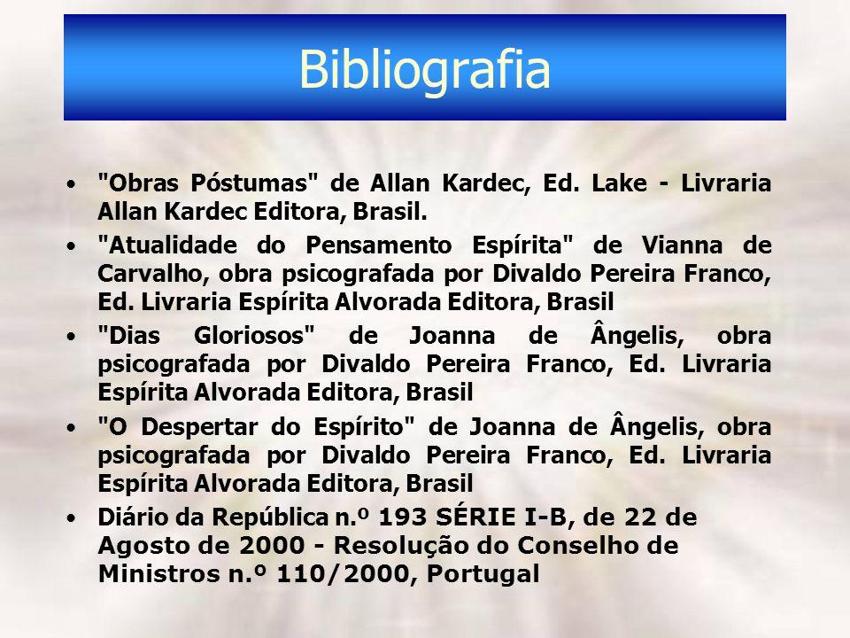 Bibliografia Obras Póstumas de Allan Kardec, Ed. Lake - Livraria Allan Kardec Editora, Brasil.