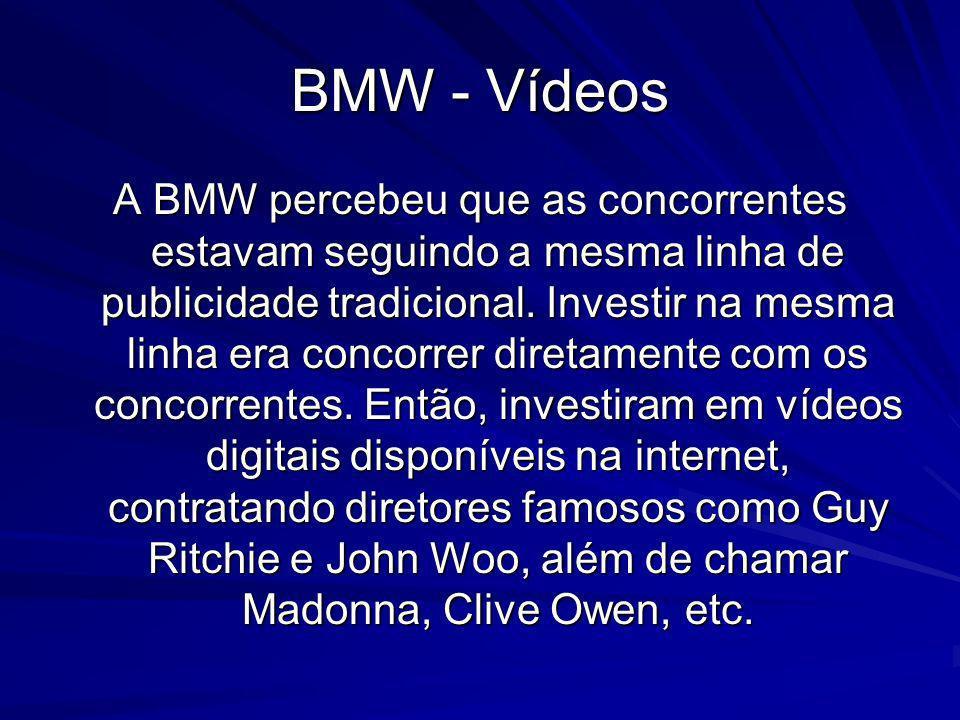 BMW - Vídeos