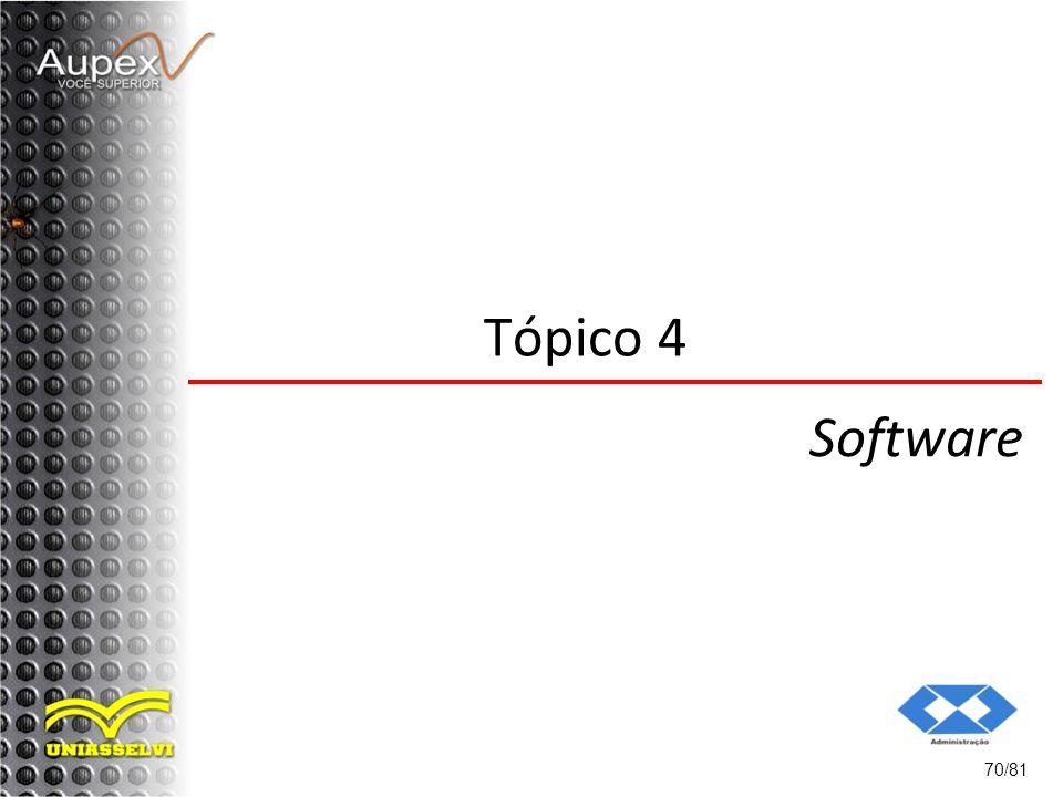Tópico 4 Software 70/81