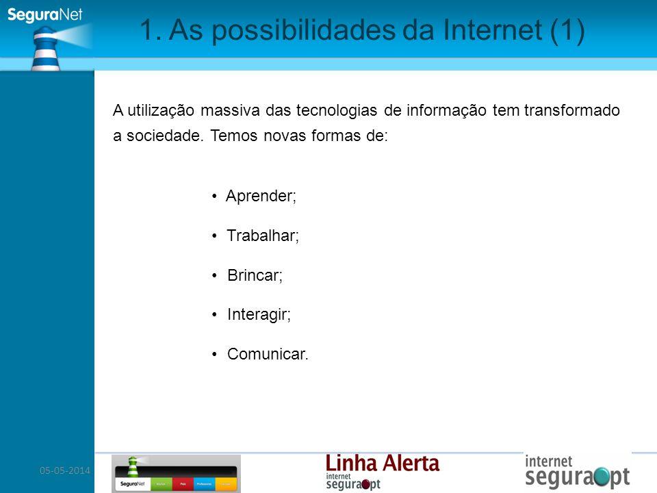 1. As possibilidades da Internet (1)