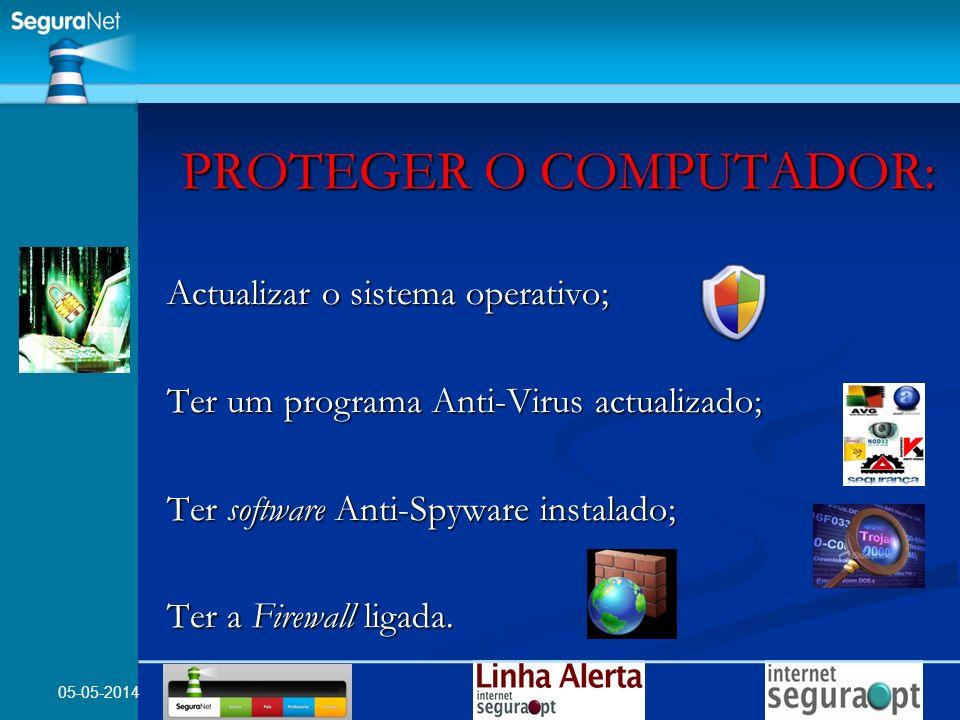 PROTEGER O COMPUTADOR:
