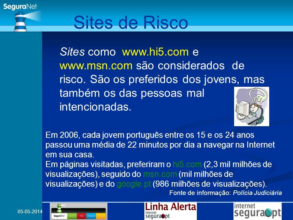 Sites de Risco