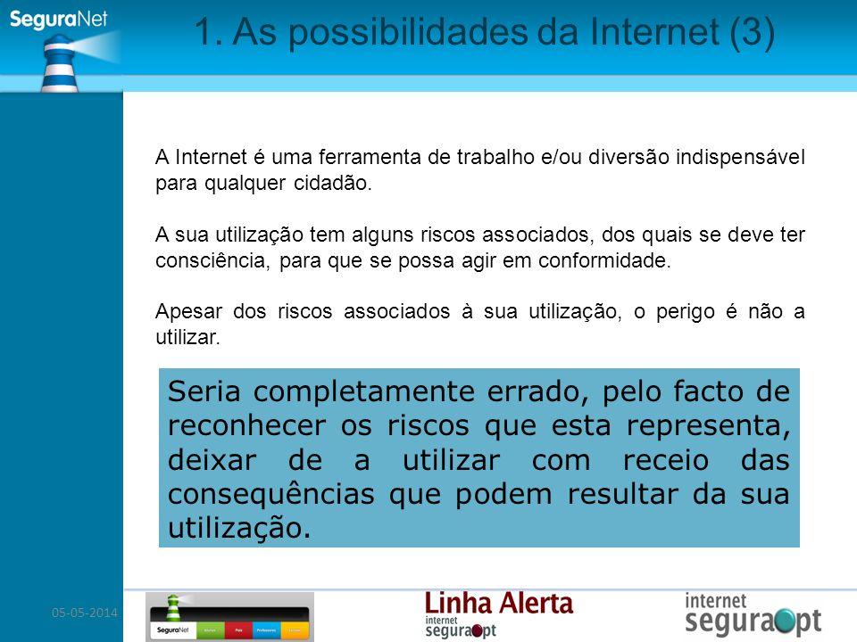 1. As possibilidades da Internet (3)