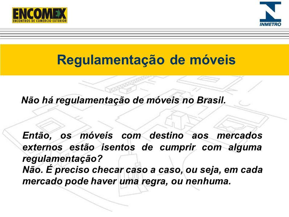Regulamentação de móveis