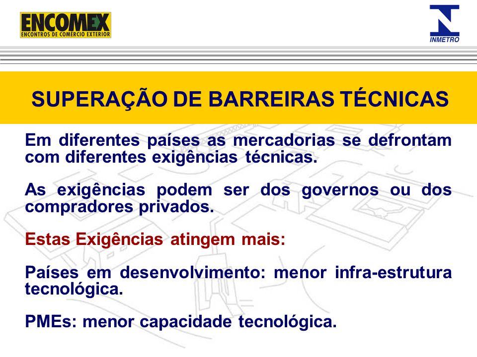 SUPERAÇÃO DE BARREIRAS TÉCNICAS