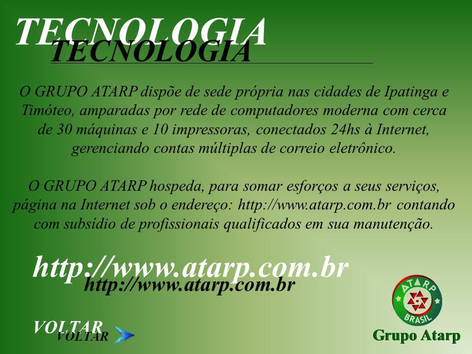 TECNOLOGIA TECNOLOGIA http://www.atarp.com.br http://www.atarp.com.br