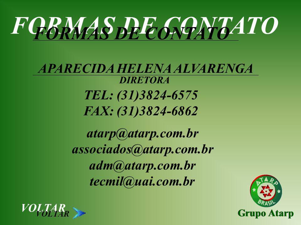 FORMAS DE CONTATO FORMAS DE CONTATO APARECIDA HELENA ALVARENGA