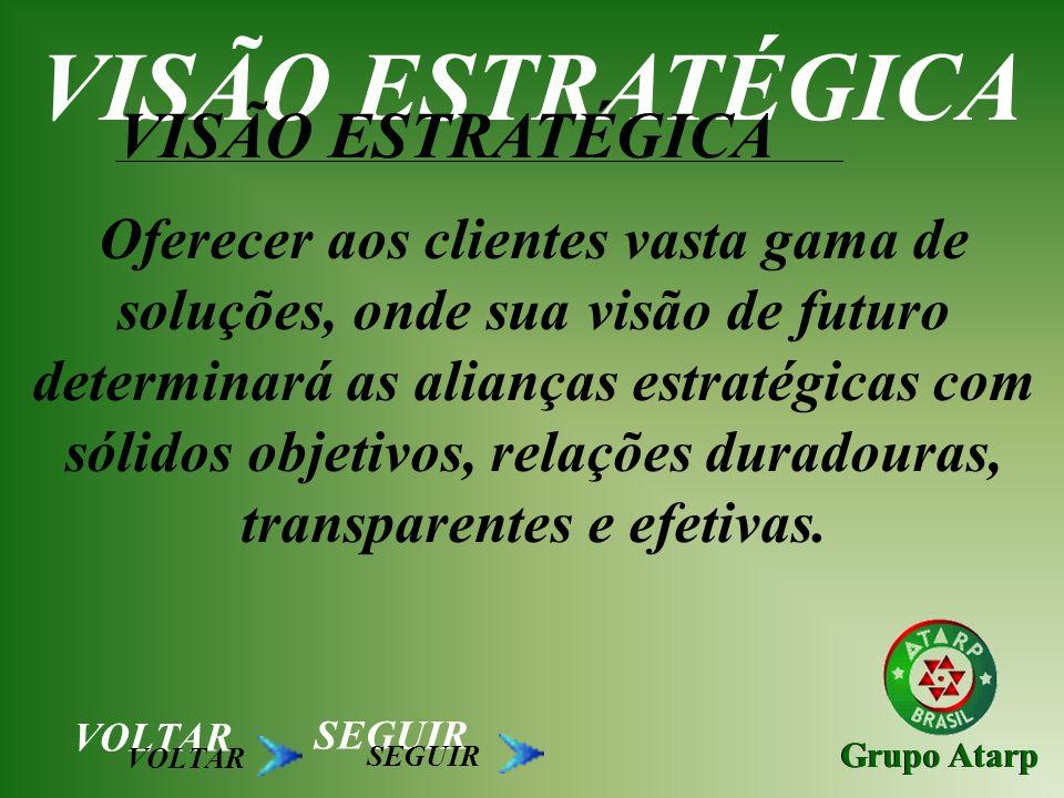 VISÃO ESTRATÉGICA VISÃO ESTRATÉGICA