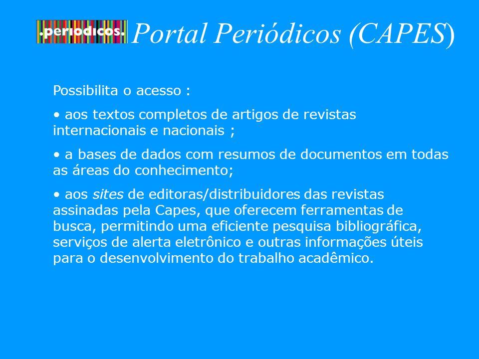 Portal Periódicos (CAPES)