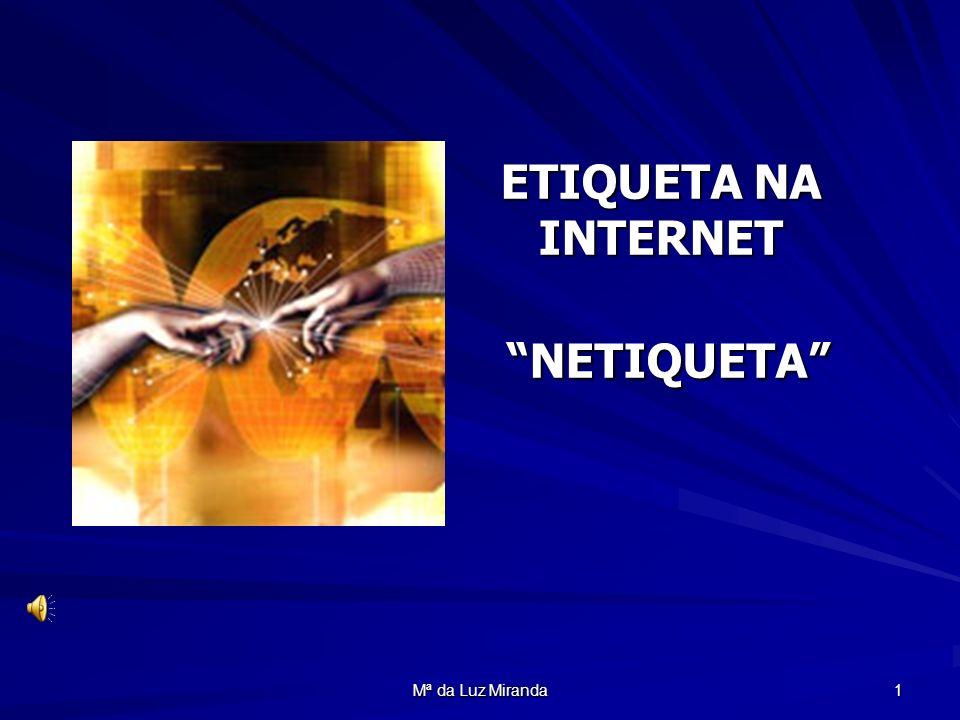 ETIQUETA NA INTERNET NETIQUETA