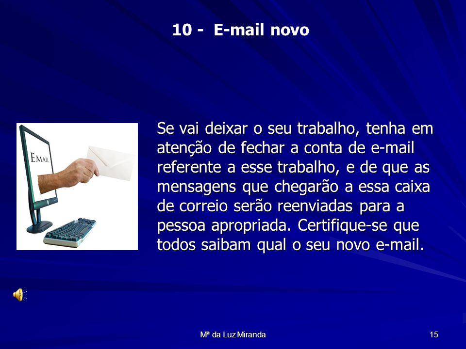 10 - E-mail novo