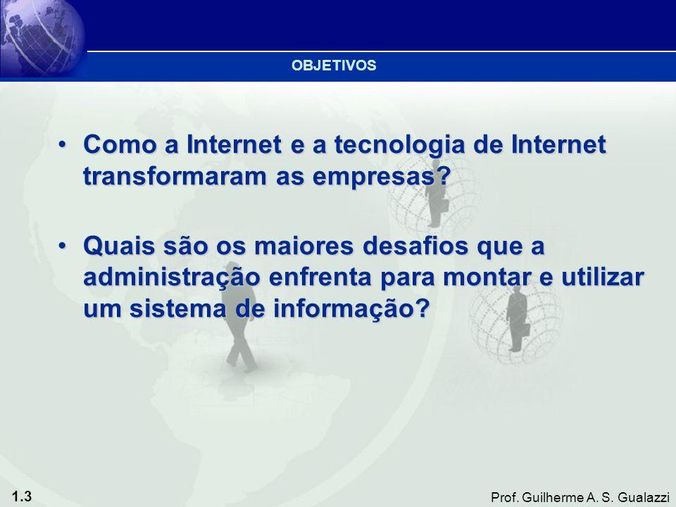 Como a Internet e a tecnologia de Internet transformaram as empresas