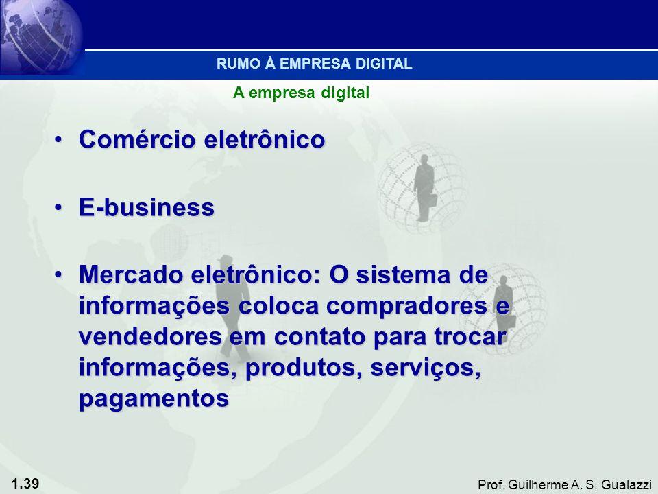 Comércio eletrônico E-business