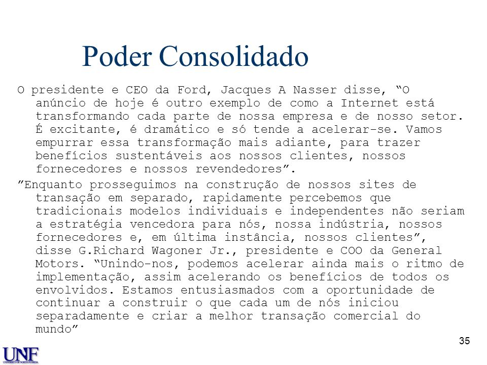 Dr. Dale S. Rogers Poder Consolidado.
