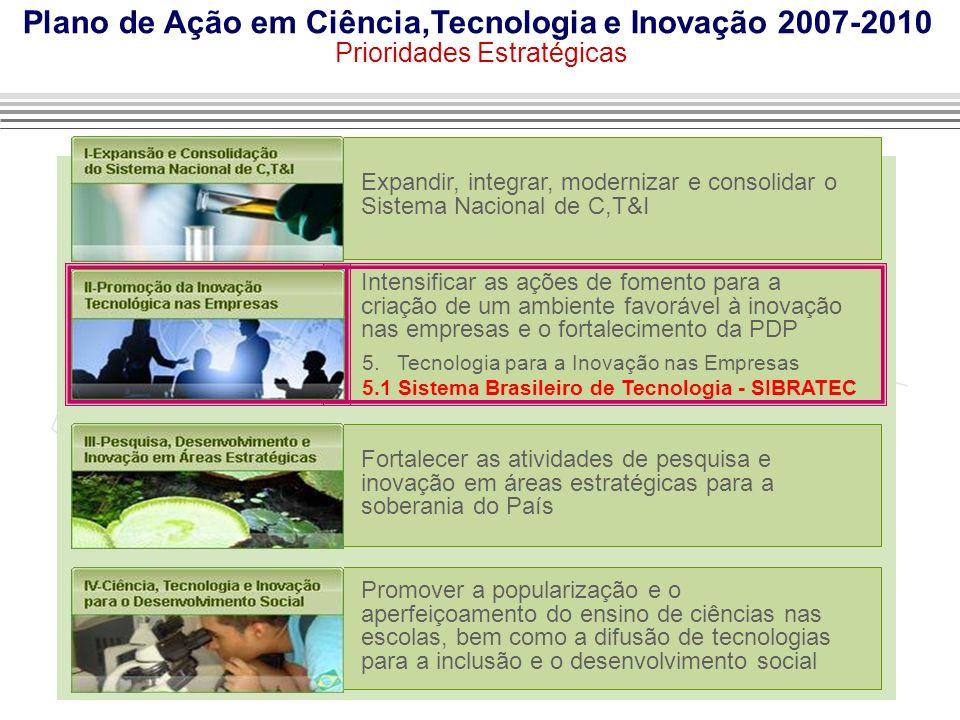 Plano de Ação em Ciência,Tecnologia e Inovação 2007-2010