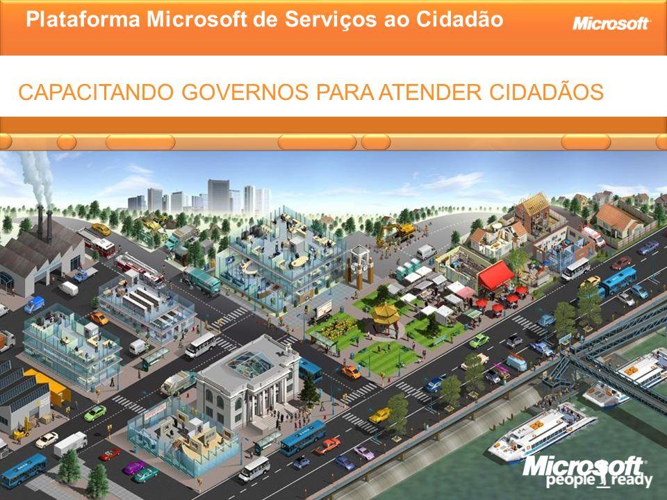 Plataforma Microsoft de Serviços ao Cidadão