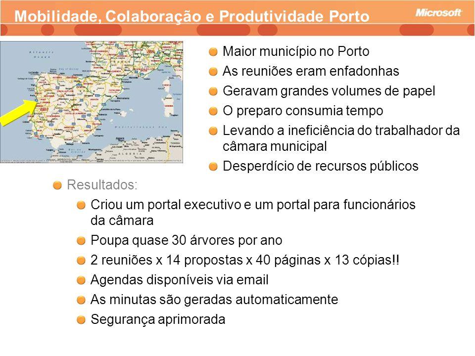 Mobilidade, Colaboração e Produtividade Porto