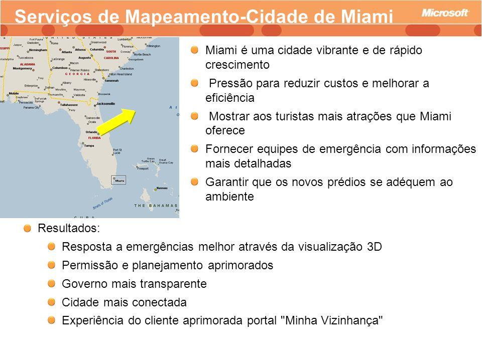 Serviços de Mapeamento-Cidade de Miami