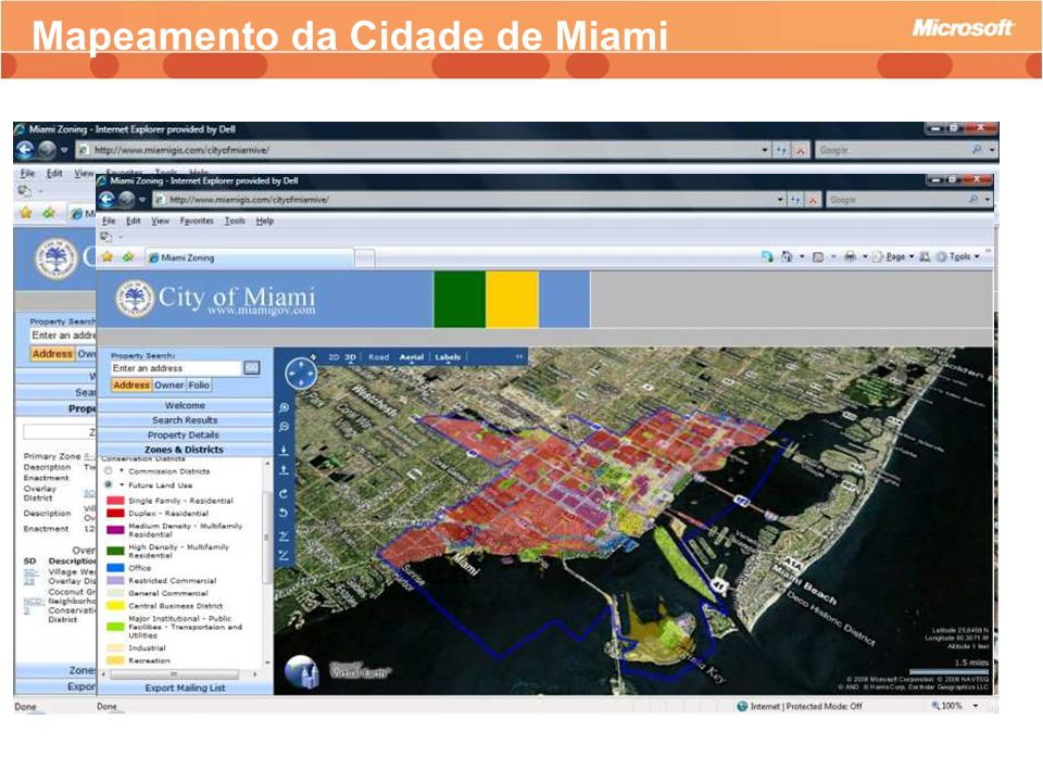 Mapeamento da Cidade de Miami