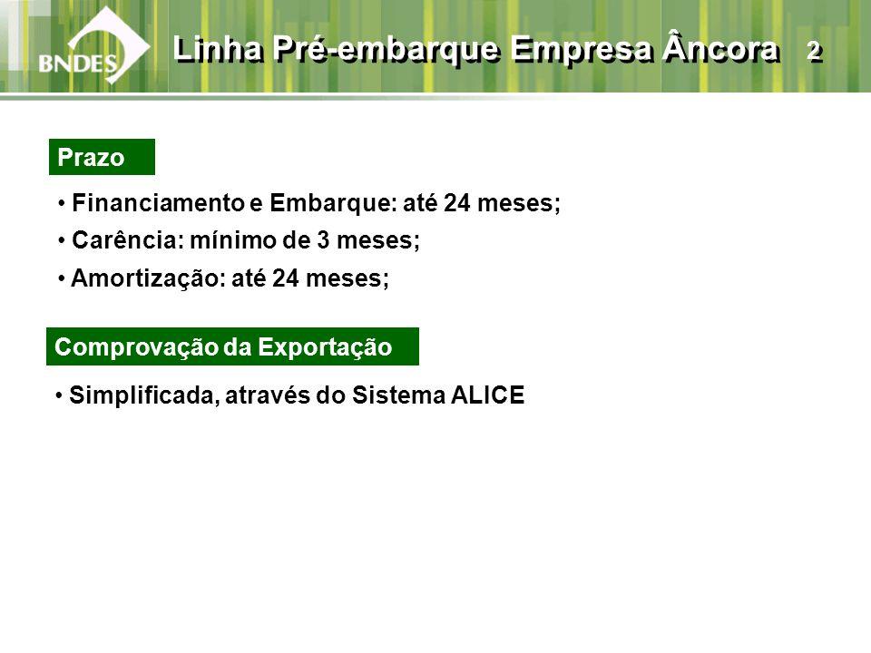 Linha Pré-embarque Empresa Âncora 2